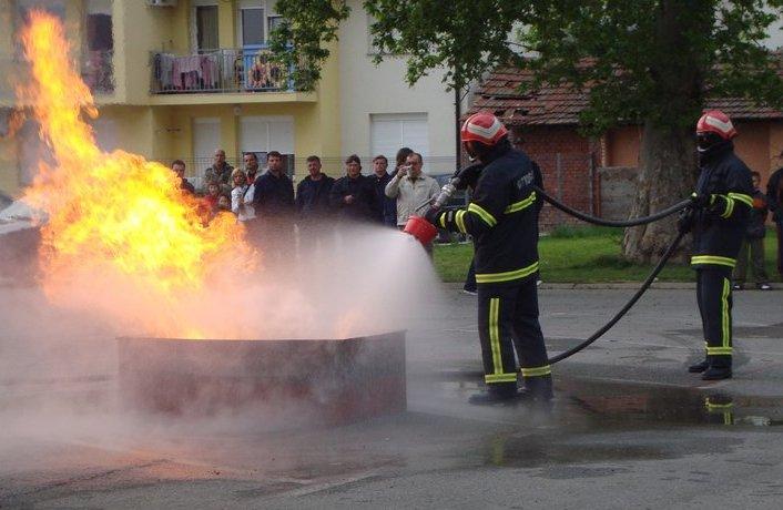vatrogasna vjezba