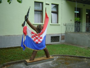skulptura Domovinski rat