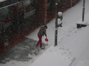 snijeg ciscenje