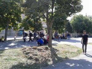 izbjeglice u Belom Manastiru