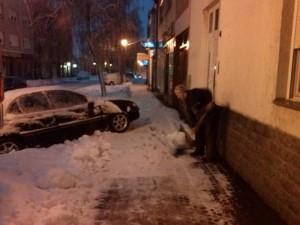 ciscenje snijega Nakil